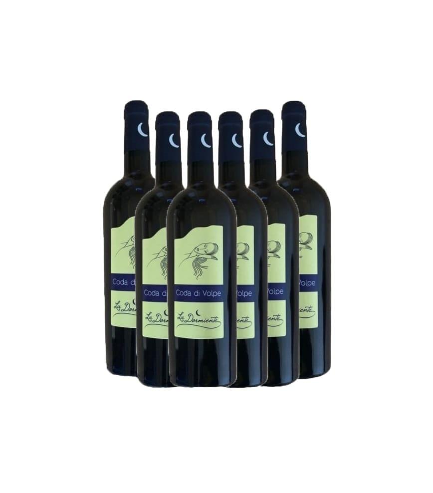 Coda di volpe 6 bottiglie di vino rosso