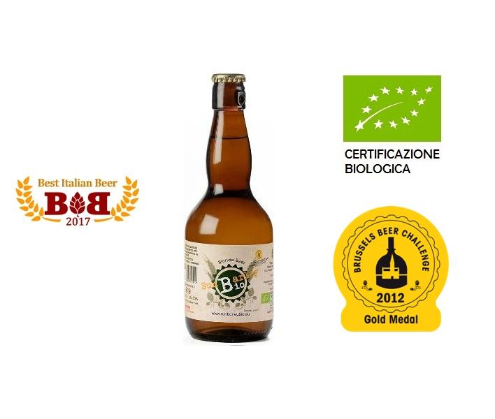 Birra Biologica Sun Barley Blonde 1