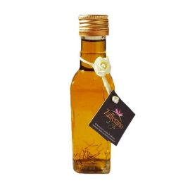 olio evo aromatizzato allo zafferano