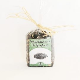 lenticchie nere di Leonforte